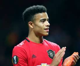 Mason Greenwood starred for United. GOAL