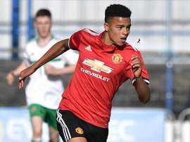 Mason Greenwood has signed his first professional contract with Manchester United. GOAL