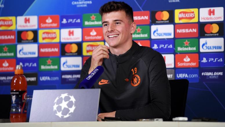 Mason Mount était en conférence de presse avant la réception de l'Ajax. Goal