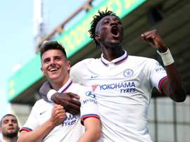 Klopp was full of praise for Mason Mount and Tammy Abraham. GOAL