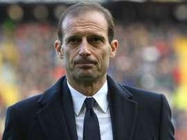 Juventus coach Massimo Allegri. Goal