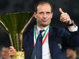 Massimiliano Allegri will be missed by Zaccheroni. GOAL