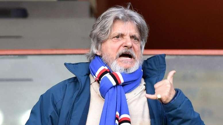 Sampdoria, Ferrero allo stadio scortato dalla Digos