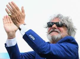 Massimo Ferrero, Sampdoria, Serie A, 06052018