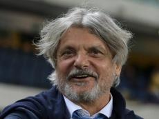 Ferrero: 'Non trattengo Giampaolo, Quagliarella rimane'