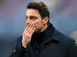 Massimo Oddo during Sunday's 5-3 defeat at Torino. Goal