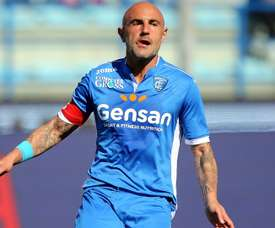 Maccarone moves to Australia after Empoli were relegated from Serie A last season. AFP