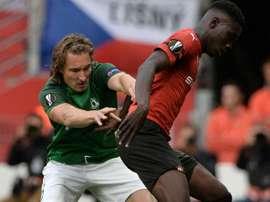 Succès du Rennes. Goal