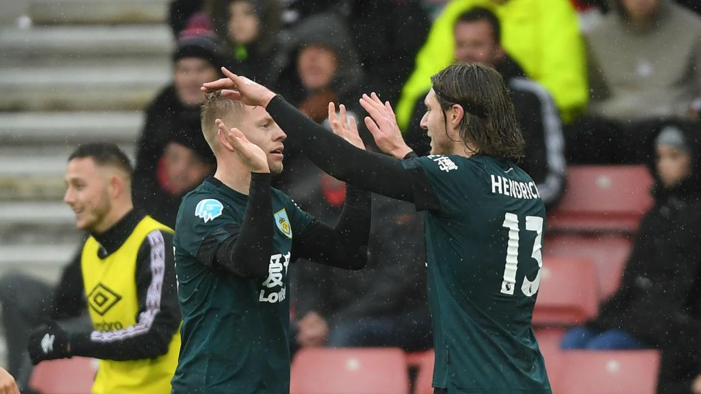 Super sub Matej Vydra's stunner secures away win for Burnley against Southampton