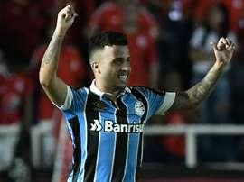 Matheus Henrique fez golaço contra o América de Cali. Goal