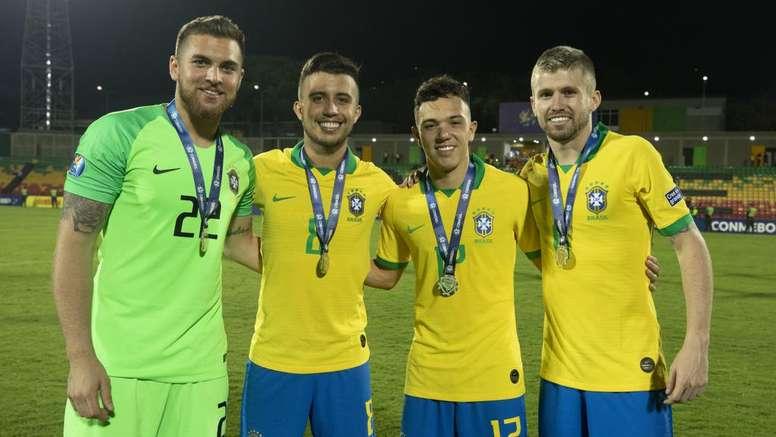 Primeiro Gre-Nal de 2020 terá impacto da volta de 'quinteto olímpico' do Brasil sub-23