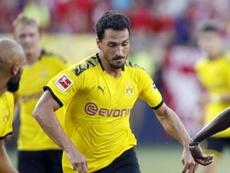 Hummels missed the German Super Cup match versus Bayern. GOAL
