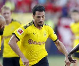 Hummels missed the German Super Cup match versus Bayern. GOAL