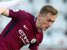 The youngster has impressed in the Manchester City youth teams. GOAL