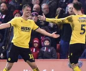 Millwall won 3-0. AFP