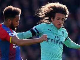 Arsenal s'arrête là. Goal