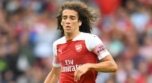 Sa première réalisation sous le maillot d'Arsenal. Goal