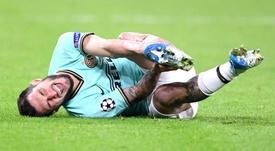 Politano preoccupa l'Inter: caviglia ko
