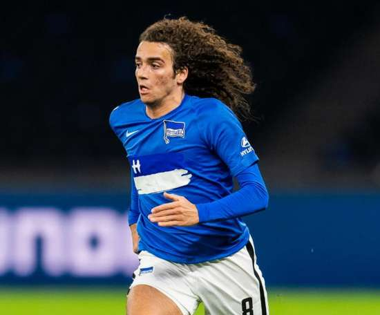 Matteo Guendouzi is much happier now he is at Hertha Berlin. GOAL