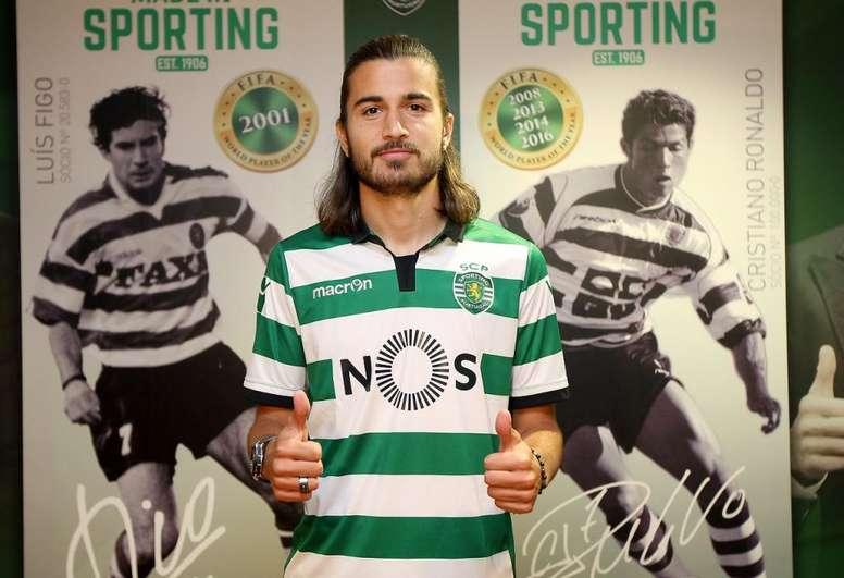 Mattheus Oliveira, do Sporting, abre negociação com o Vasco. GOAL