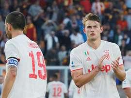 Il centrale olandese della Juventus De Ligt. Goal