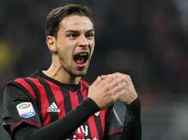 Milan full back Mattia De Sciglio. Goal