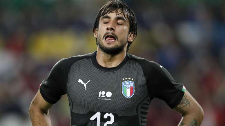 Perin only joined the Italian champions in June. GOAL