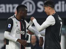 Juventus, Matuidi ne veut pas quitter le terrain en cas de racisme. AFP