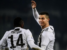 Cristiano Ronaldo, Blaise Matuidi n'a jamais vu ça. Goal