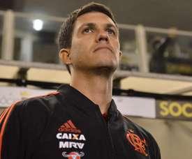 Mauricio Barbieri Santos Flamengo Brasileirao Serie A. Goal
