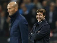Mauricio Pochettino faz sombra para Zidane no Real. EFE