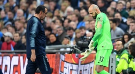 Willy Caballero will finally get his chance to play. GOAL