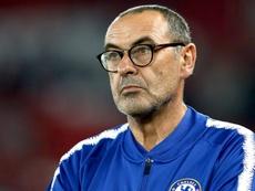 Sarri was unimpressed with Chelsea's ponderous performance against BATE. GOAL