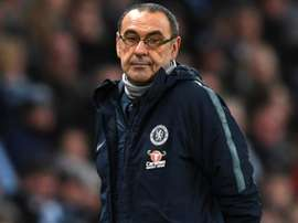 Sarri is positive about his Chelsea future. GOAL