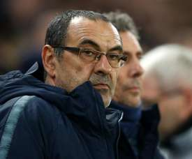Jorginho unsure if Sarri will stay at Chelsea amid Juve links.