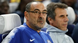 Sarri condemns the alleged racist abuse of Raheem Sterling by Chelsea supporters. GOAL