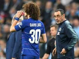 Higuain litiga con David Luiz e Sarri abbandona l'allenamento. Goal