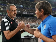 Sarri and Conte are both coaching in Italy season. GOAL