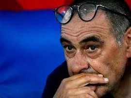 Sarri évoque le match contre l'Atalanta. GOAL