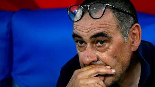 Sarri inquiet du manque de constance de son équipe. GOAL
