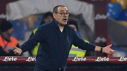Sarri happy for Napoli despite Juve streak ending at old club. Goal