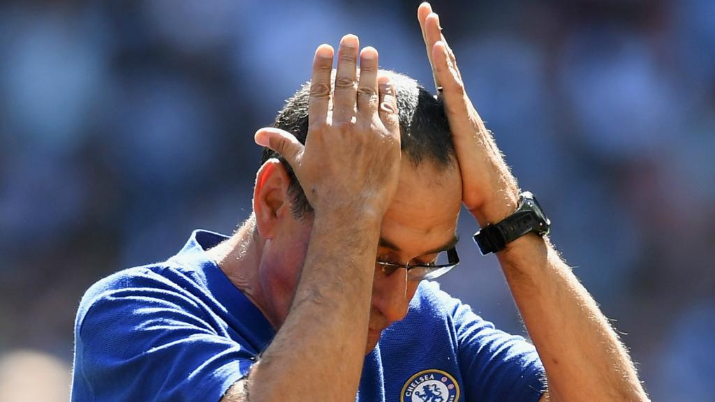 Sarri has told Chelsea fans not to expect immediate fireworks. GOAL