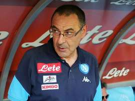Maurizio Sarri comes back to Italy in style. GOAL