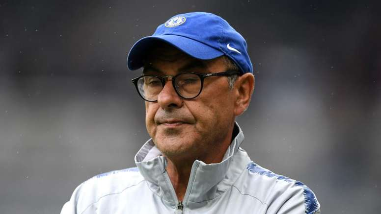 Maurizio Sarri believes that Chelsea are not ready to challenge for the title yet. GOAL
