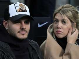 Inter manager Spalletti would have liked Icardi to join his team in the changing room. GOAL