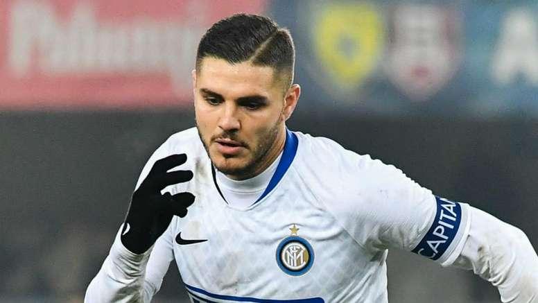 Icardi pubblica un post per l'Inter. Goal