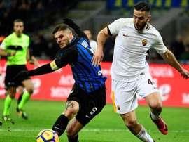 Égalité parfaite entre les deux grands d'Italie. Goal