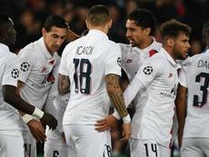 PSG-Bruges (1-0) - Sans briller, le PSG file en huitièmes. AFP