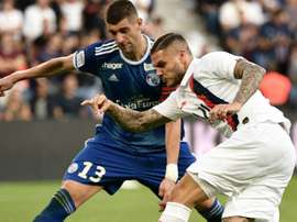 Icardi a joué ses premières minutes avec le PSG. Goal