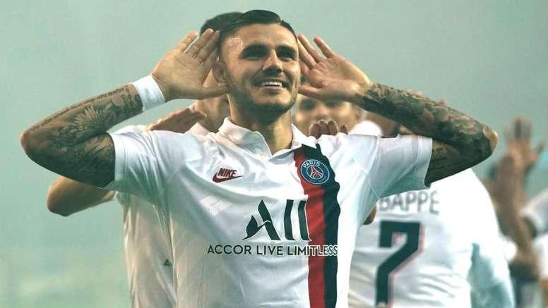 Ander Herrera forfait, Mauro Icardi incertain. AFP